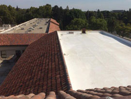 Tile and Single-Ply Reroofing at CK McClatchy HS